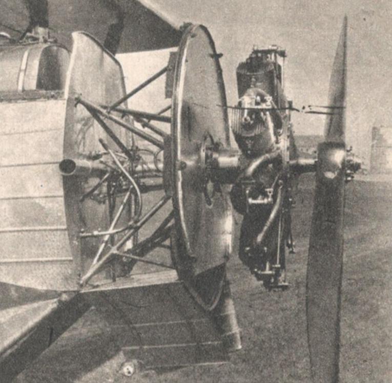 Bartel BM-4a with a La Rhone rotary engine. Photo of LAC