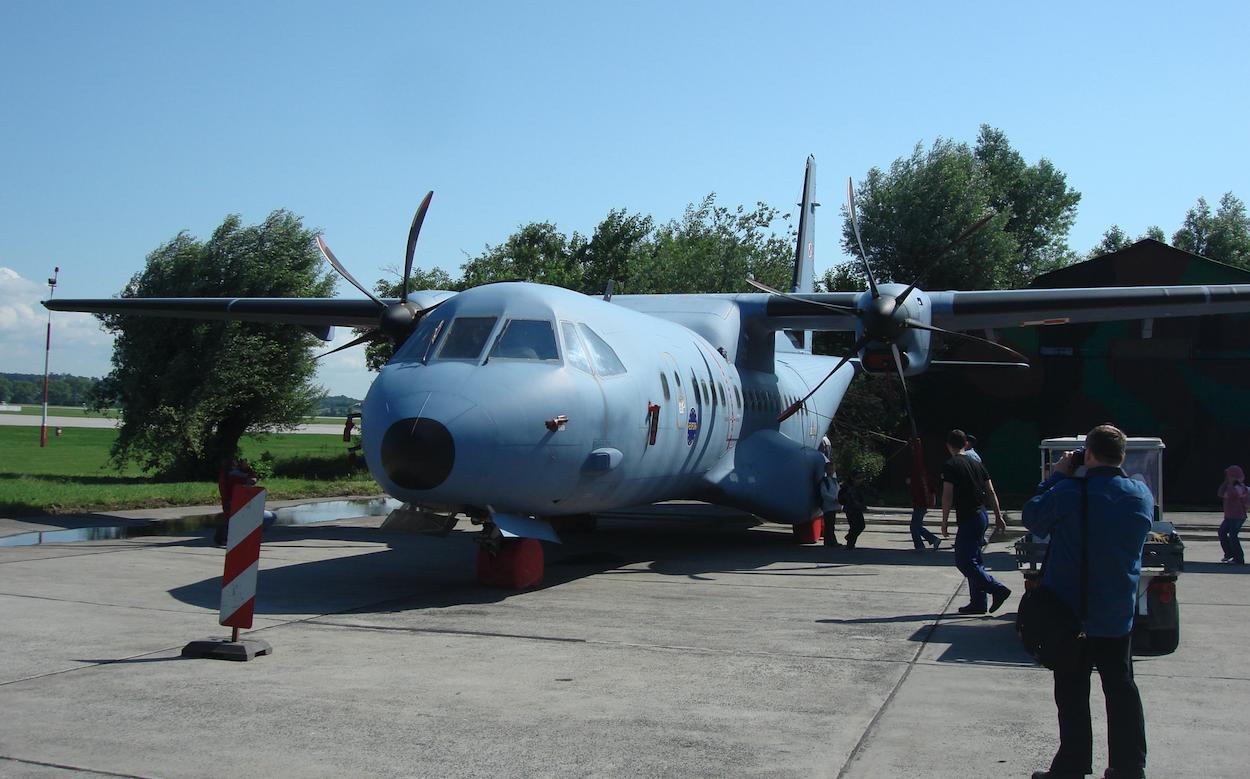 CASA C-295 M nb 018. Balice 2009. Photo by Karol Placha Hetman