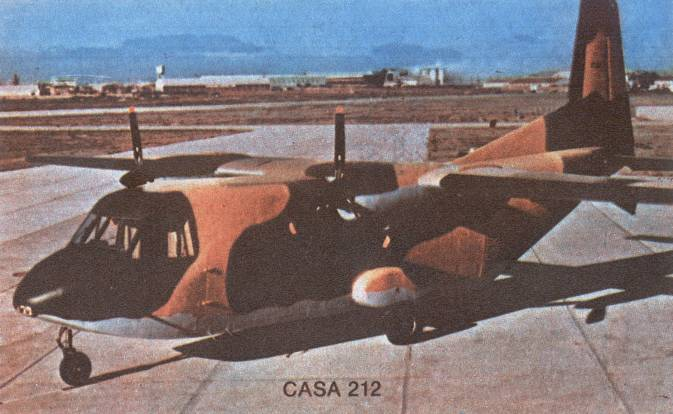 CASA C-212. 1985. Photo by LAC