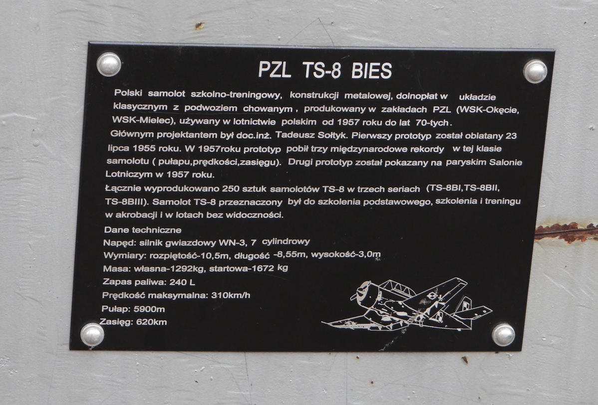 TS-8 Bies nb 0627. 2019. Photo by Karol Placha Hetman