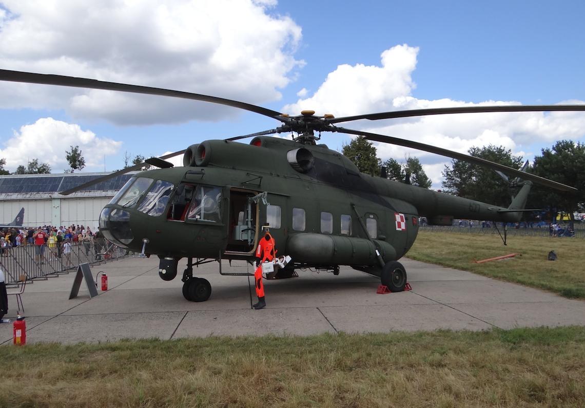 Mi-8 PS nb 627. 2013 rok. Zdjęcie Karol Placha Hetman