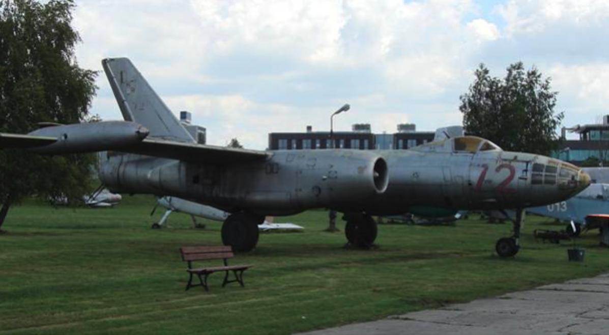 Ił-28 R nb 72. 2008. Photo by Karol Placha Hetman