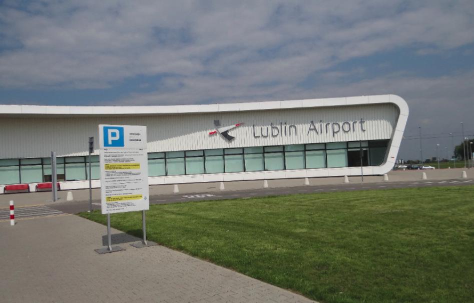 Terminal Portu Lotniczego Lublin w Świdniku. 2016 rok. Zdjęcie Karol Placha Hetman