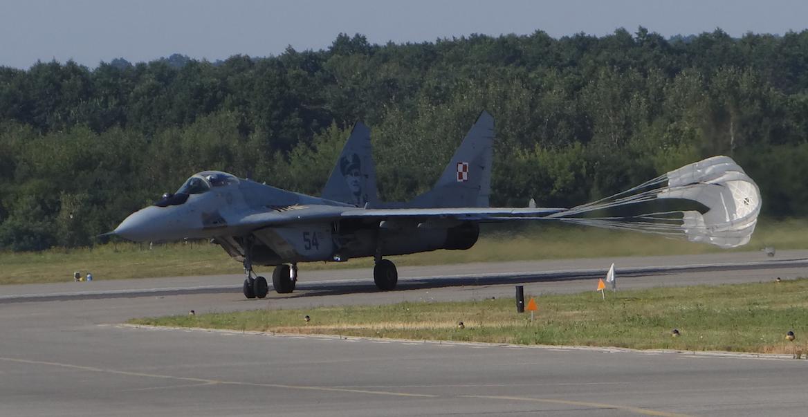 MiG-29 nb 54. 2017 rok. Zdjęcie Karol Placha Hetman
