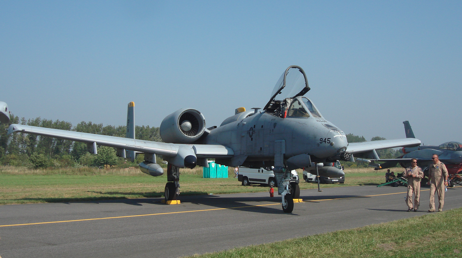 Fairchild A-10 nb 945. 2011 rok. Zdjęcie Karol Placha Hetman