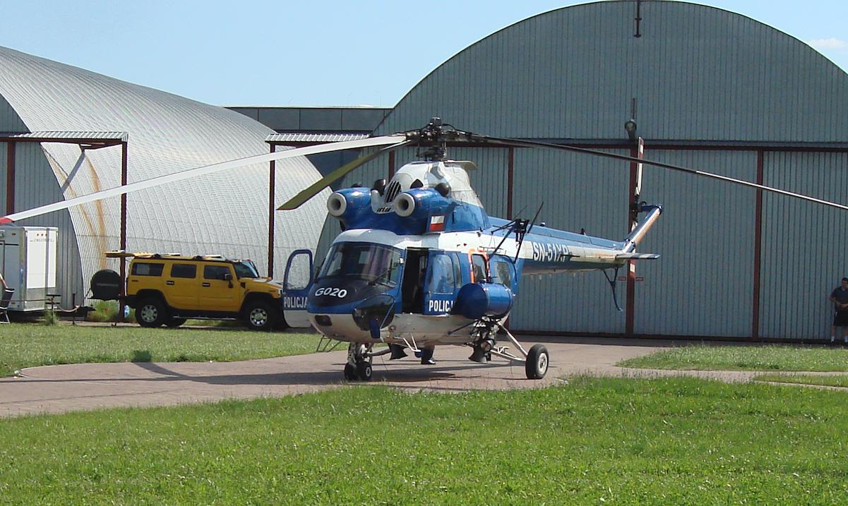 PZL Kania rejestracja SN-51XP. 2012 rok. Zdjęcie Karol Placha Hetman
