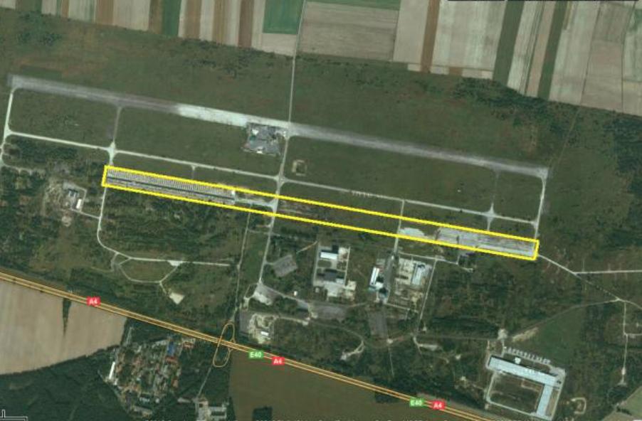 Lotnisko Krzywa, DS (RWY) nr 2. 2020 rok. Zdjęcie LAC