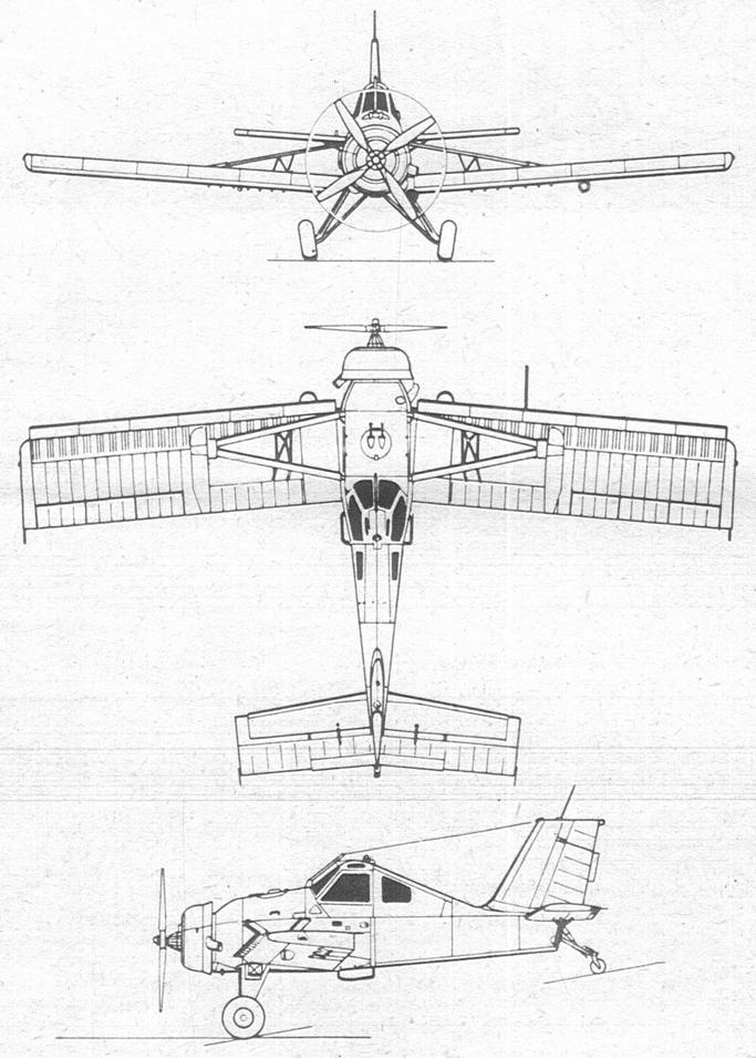 Wersja PZL-106 A Kruk Zdjęcie LAC