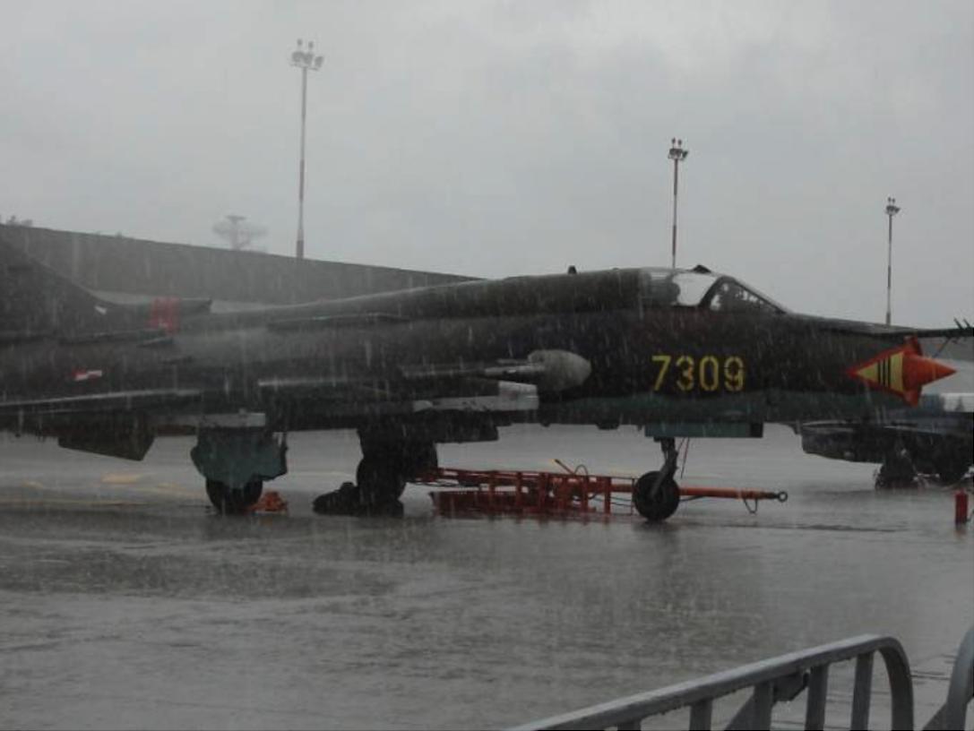 Su-22 M 4 K nb 7309. 2007 rok. Zdjęcie Karol Placha Hetman