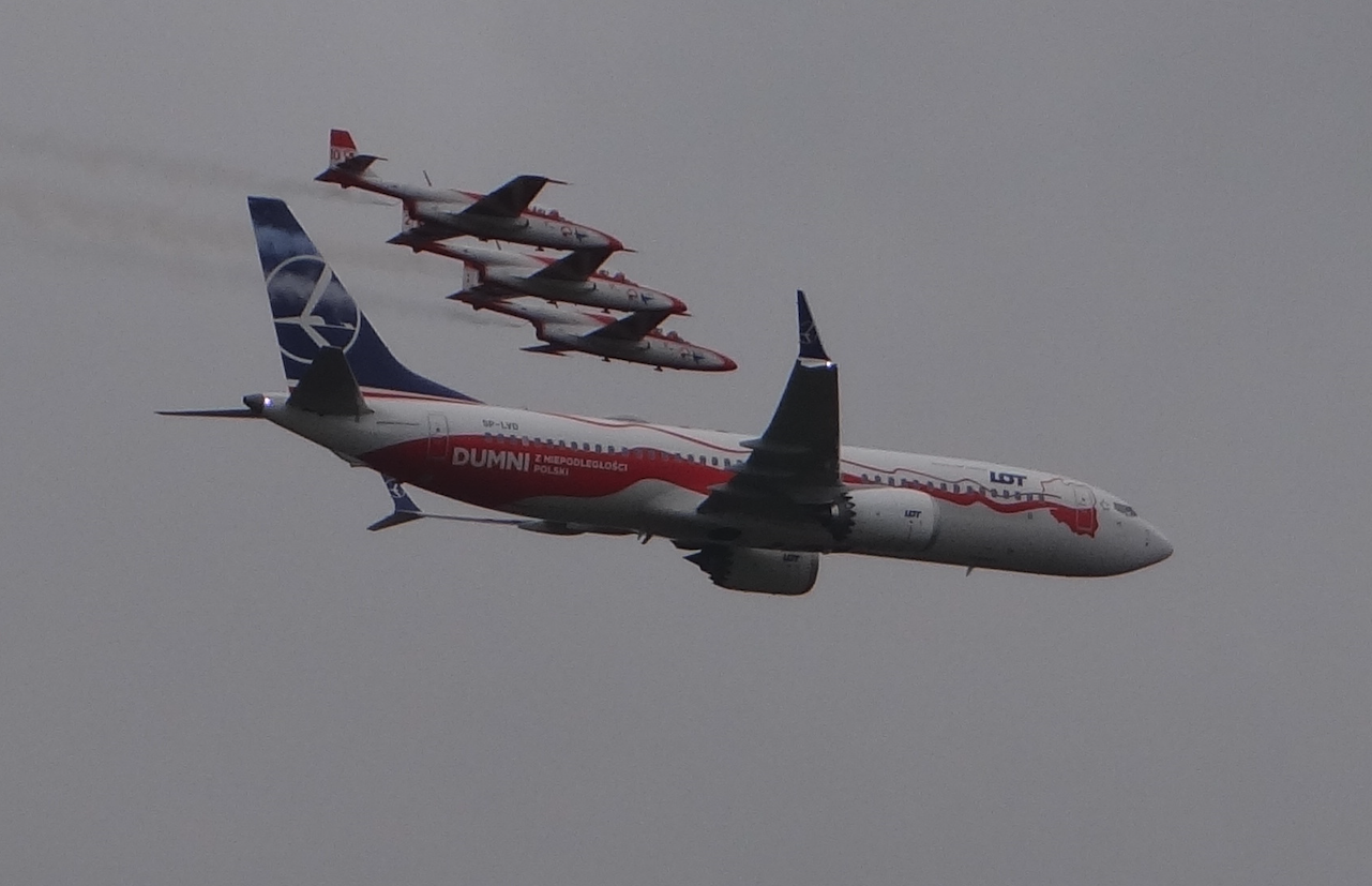 Boeing B-737 MAX 8. 2018 year. Photo by Karol Placha Hetman