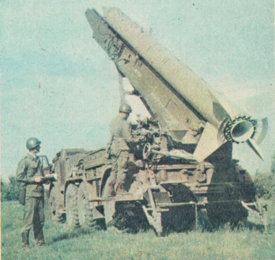 Rakieta taktyczna. Polska 1975 rok. Zdjęcie LAC