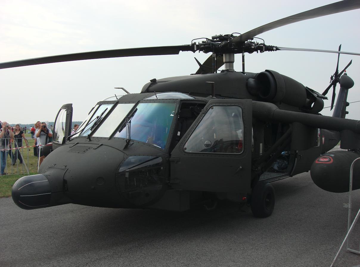 S-70 Black Hawk nb 6MBB Austria. 2009 rok. Zdjęcie Karol Placha Hetman