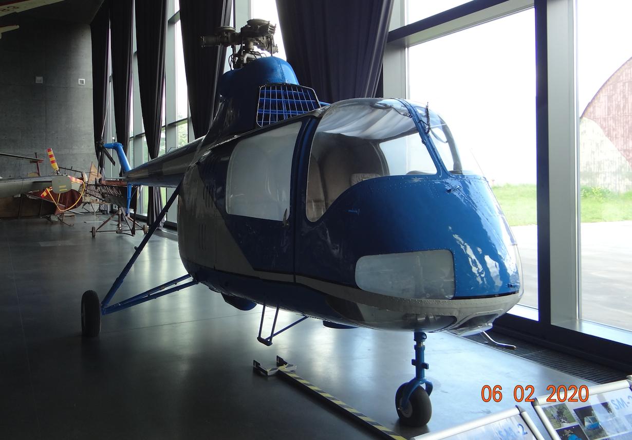 PZL WSK Świdnik SM-2 SP-SAP. 2020 rok. Zdjęcie Karol Placha Hetman