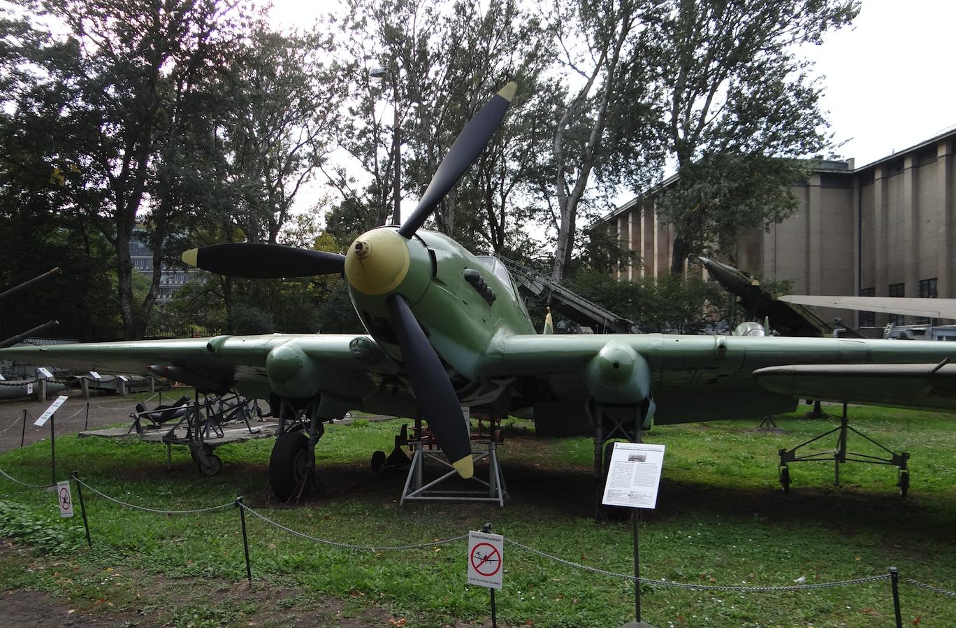 The Il-2 attack aircraft. 2012 year. Photo by Karol Placha Hetman