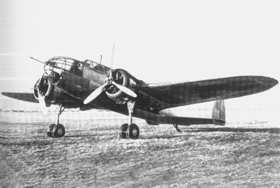 PZL-37 B Łoś 1938. Photo of LAC