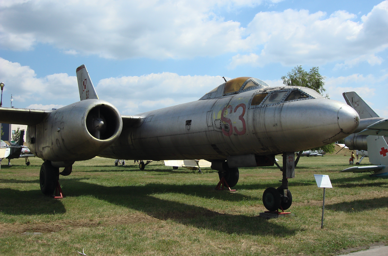 Ił-28 nb S3. 2008 rok. Zdjęcie Karol Placha Hetman