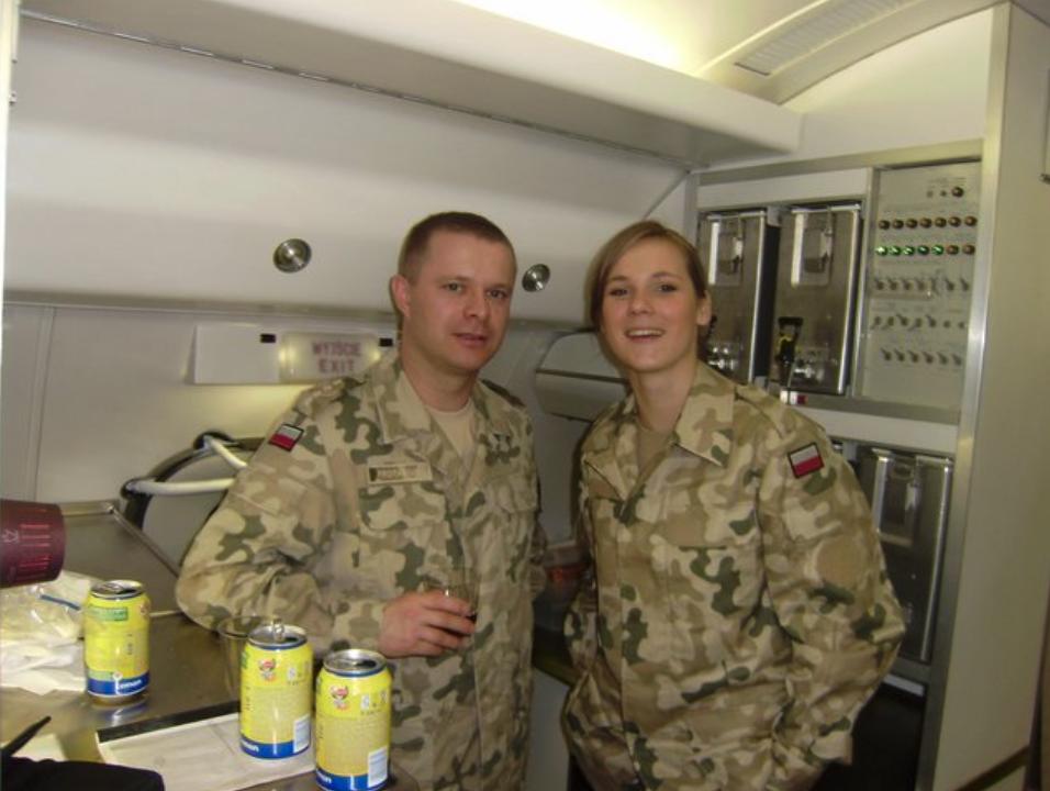 Natalia Maria Januszko - stewardessa