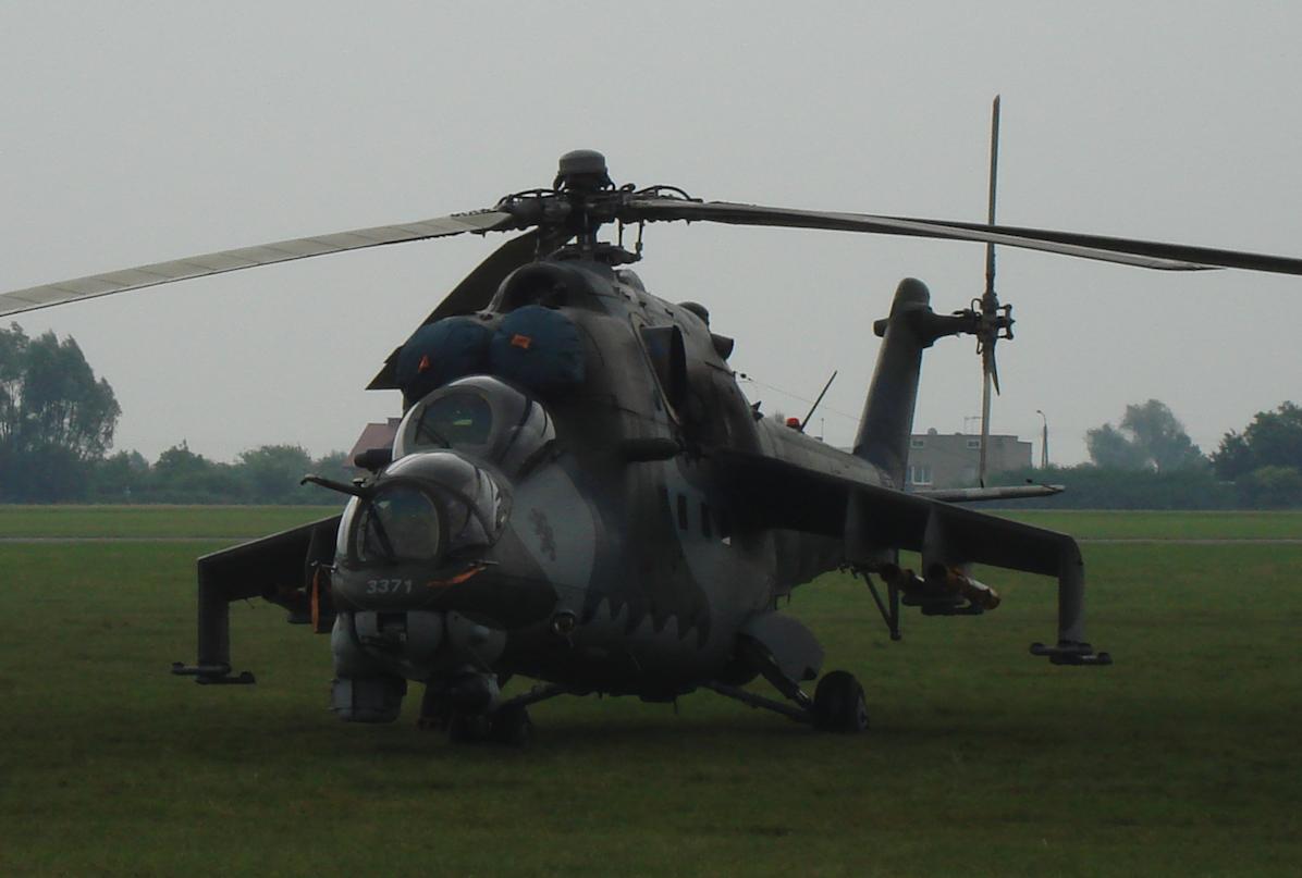 Czechy Mil Mi-24 Nb 3371. 2009 rok. Zdjęcie Karol Placha Hetman