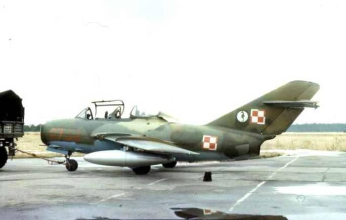 SB Lim-2 A. Na usterzeniu poziomym godło eskadry.