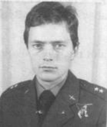Pilot Lieutenant Jacek Gabryś