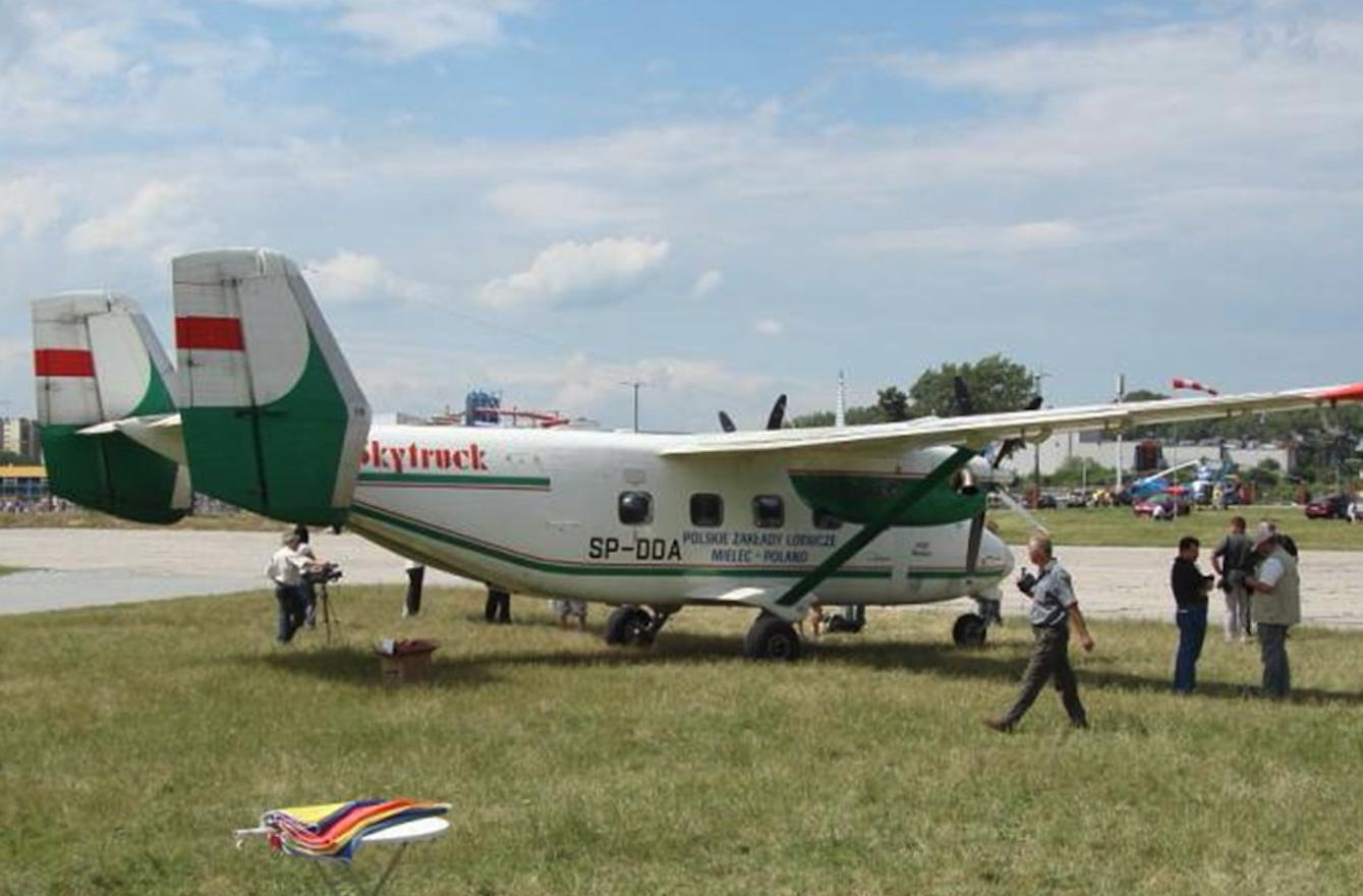 M-28-02 Skytruck rejestracja SP-DDA. 2007 rok. Zdjęcie Karol Placha Hetman