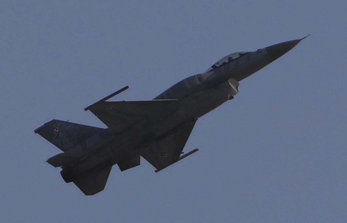 F-16 C nb 4052. 2016 rok. Zdjęcie Karol Placha Hetman