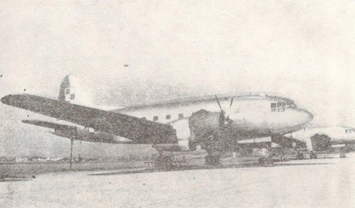 Iliuszyn Ił-12. Photo of LAC