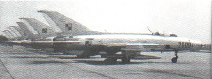 Myśliwce MiG-21 F-13 na Lotnisku Krzesiny. 1964r.