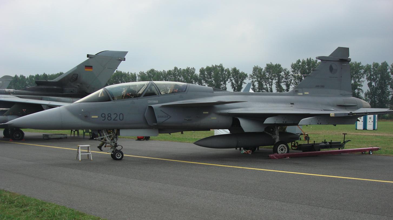 Gripen 39 D nb 9820. Czechy. 2009 rok. Zdjęcie Karol Placha Hetman
