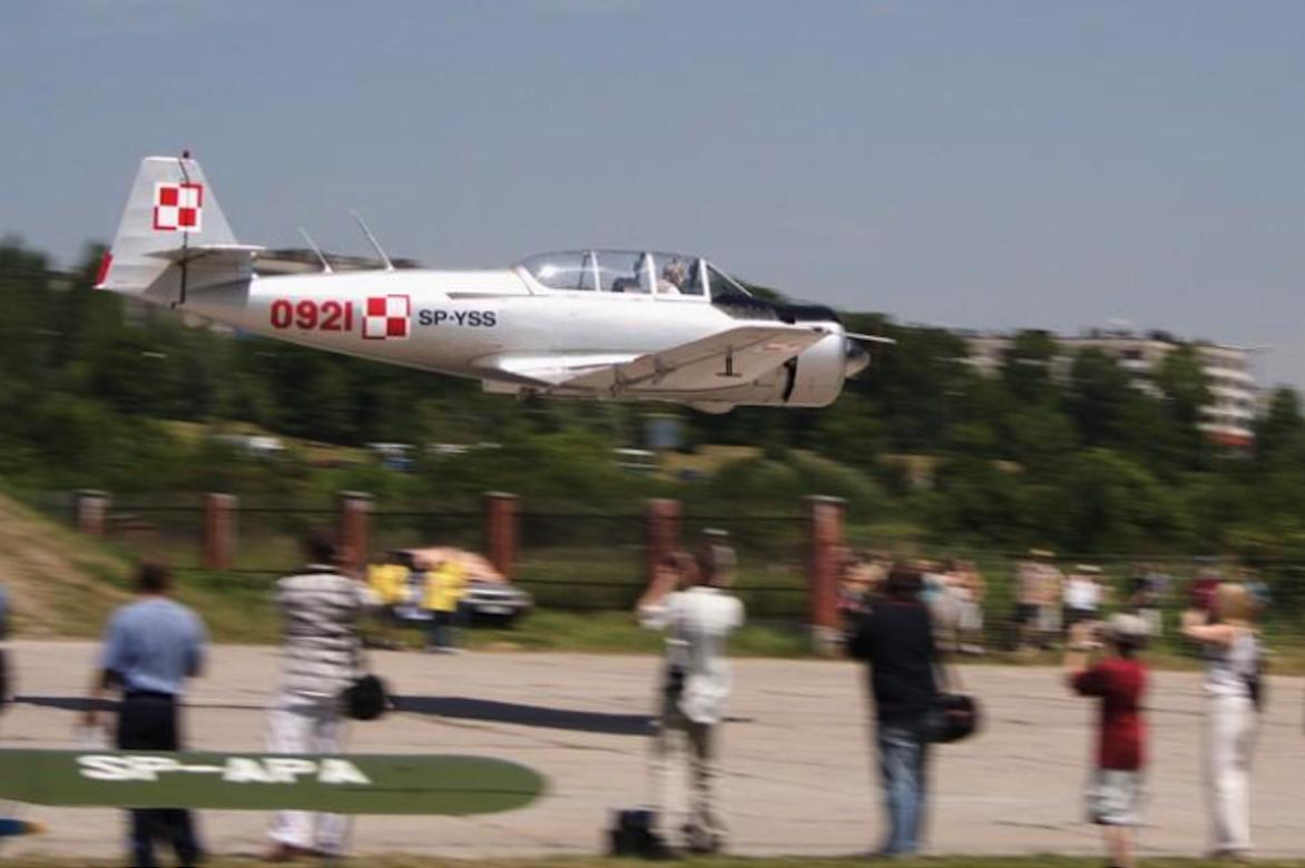 TS-8 Bies BII nr 1E-0921 rejestracja SP-YSS. Czyżyny 2005 rok. Zdjęcie Karol Placha Hetman