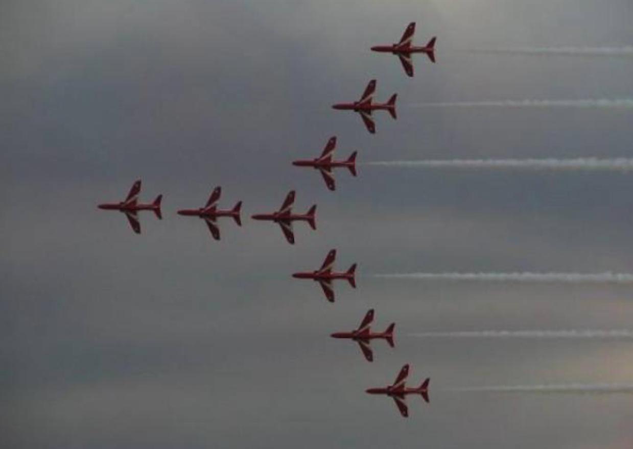 Zespół Red Arrows. Radom 2005 rok.Zdjęcie Karol Placha Hetman