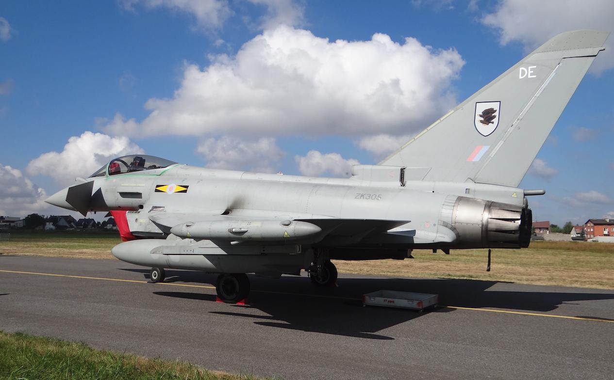 Eurofighter Typhoon nb ZK305-DE. Great Britain. 2011 year. Photo by Karol Placha Hetman