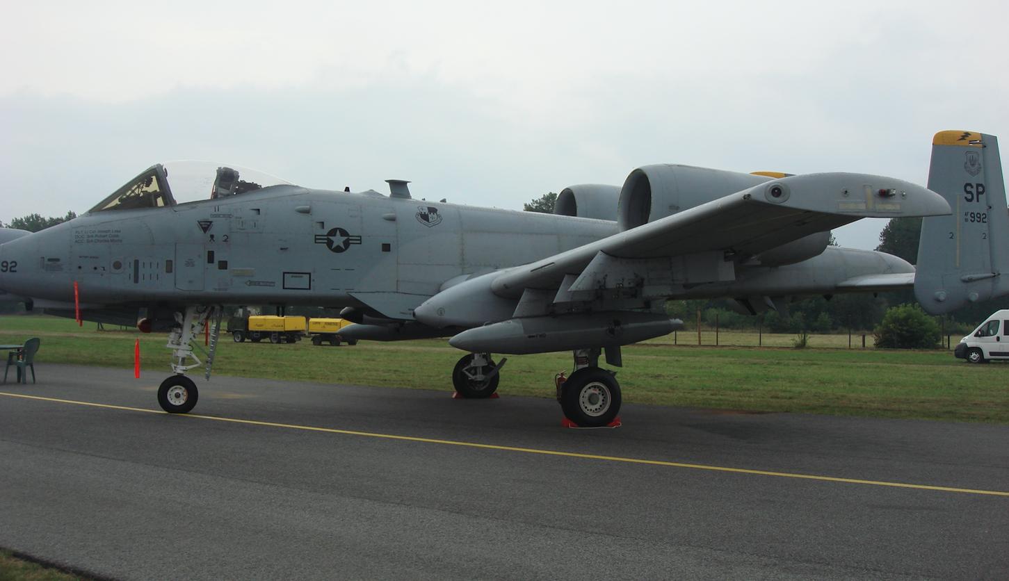 Fairchild A-10 nb 992. 2009 rok. Zdjęcie Karol Placha Hetman
