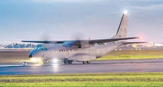 CASA C-295 M nb 019 na dwie godziny przed katastrofą. 2008r.
