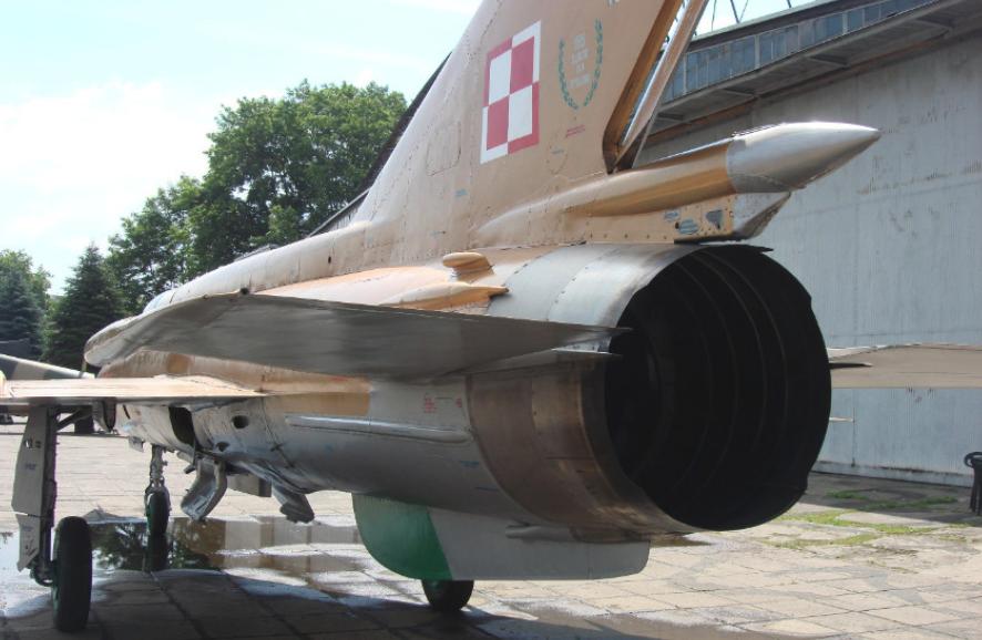 MiG-21 MF nb 9107. Czyżyny 2009. Photo by Karol Placha Hetman