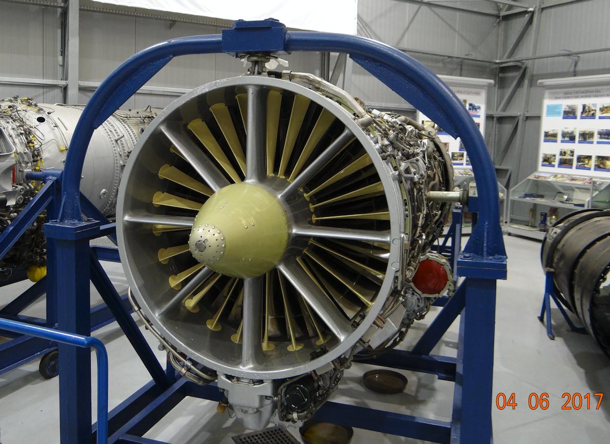 Engine A. Lulka AL.-21 F-3. Dęblin 2017. Photo by Karol Placha Hetman