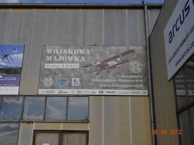 Impreza która zaczyna sezon lotniczy na Lotnisku Wilamowo. 2012r.