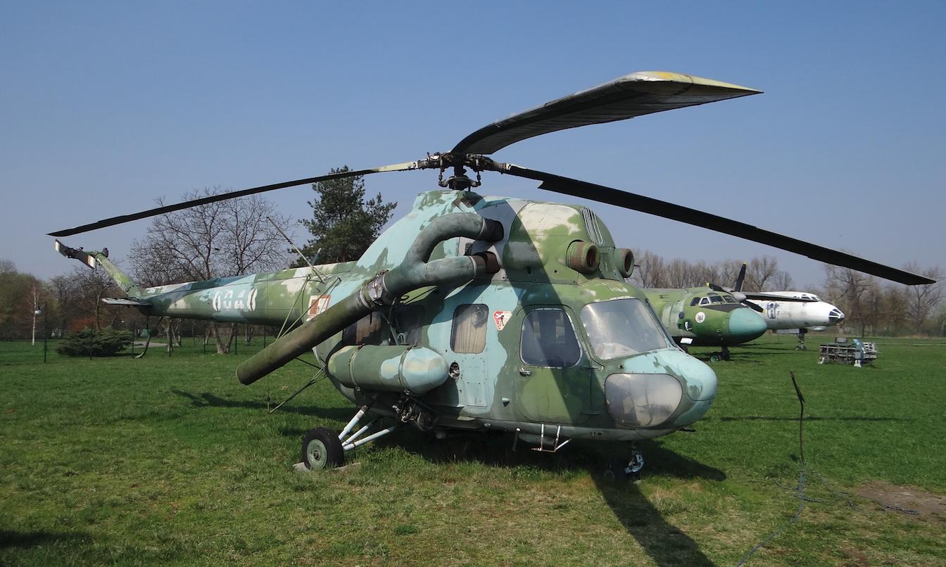 PZL Mi-2 Ch Chekla nb 6048. 2019 rok.Zdjęcie Karol Placha Hetman