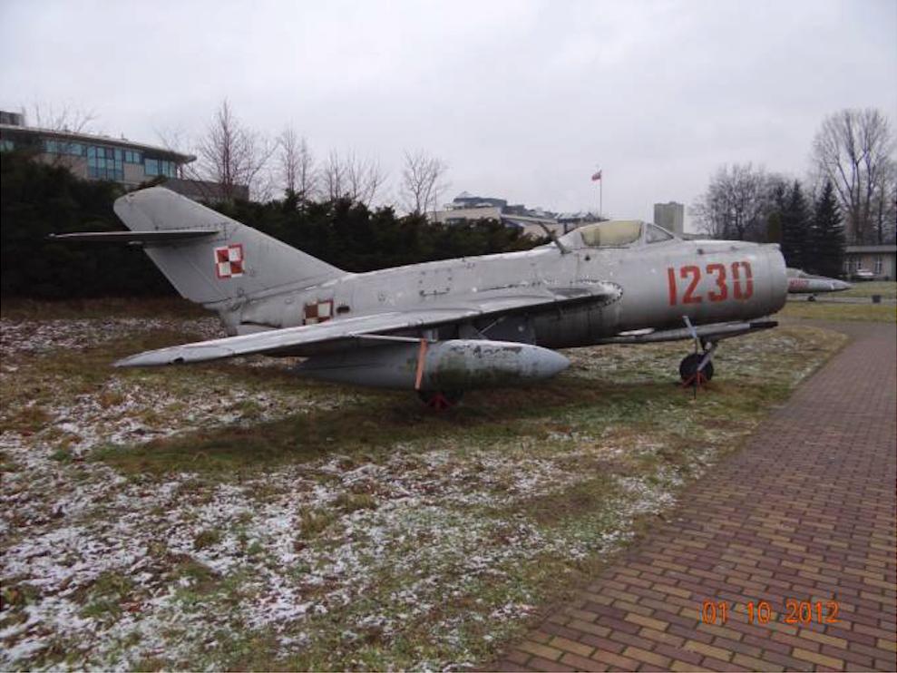 Lim-2 nb 1230 Muzeum Lotnictwa Polskiego. 2012 rok. Zdjęcie Karol Placha Hetman