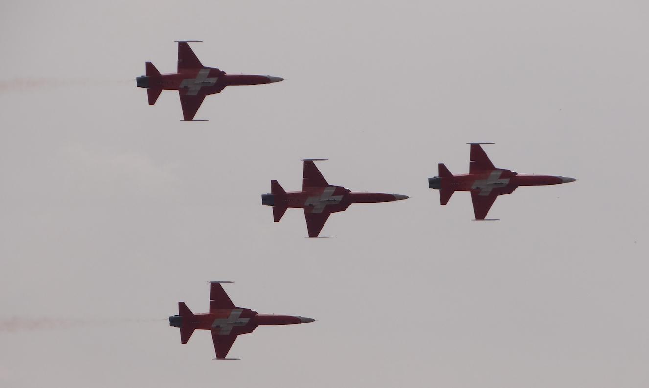 F-5 ze Szwajcarii. 2015 rok. Zdjęcie Karol Placha Hetman