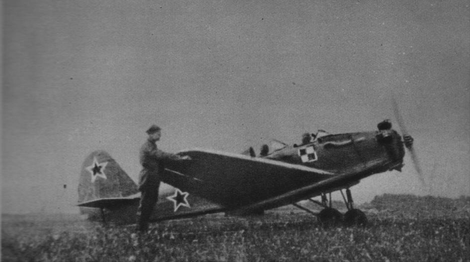 Jakowlew UT-2 na Lotnisku Grigoriweskoje. 1944 rok. Zdjęcie LAC