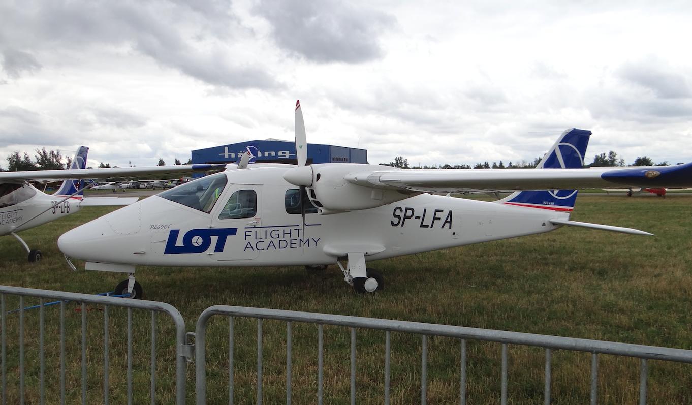 Tecnam P2006T SP-LFA. Piotrkow Trybunalski. 2018. Photo by Karol Placha Hetman