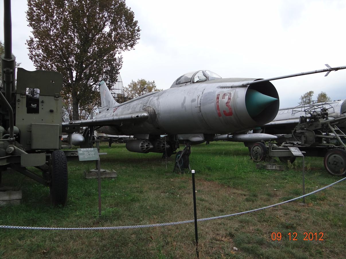 Su-7 BKŁ nb 13 nr 6013. 2012 rok. Zdjęcie Karol Placha Hetman