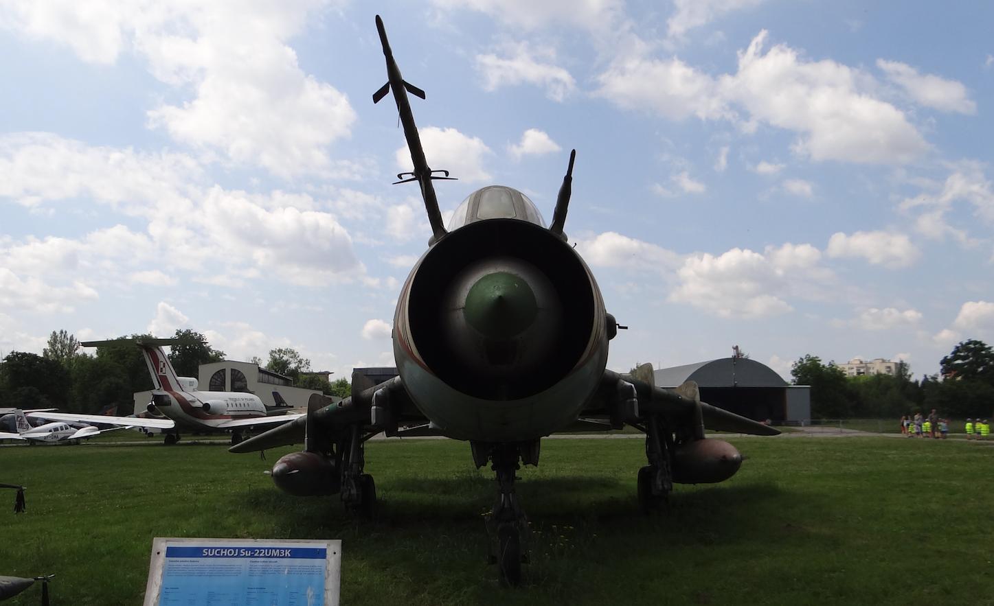 Su-22 UM 3 K nb 304. 2017 rok. Zdjęcie Karol Placha Hetman