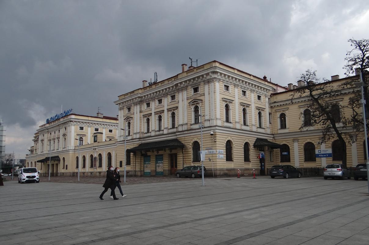 PKP Kraków Główny Railway station. 2021 year. Photo by Karol Placha Hetman