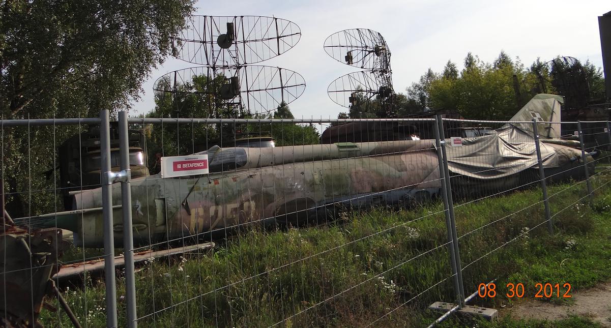 Su-20 nb 6252. Warszawa 2012 rok. Zdjęcie Karol Placha Hetman