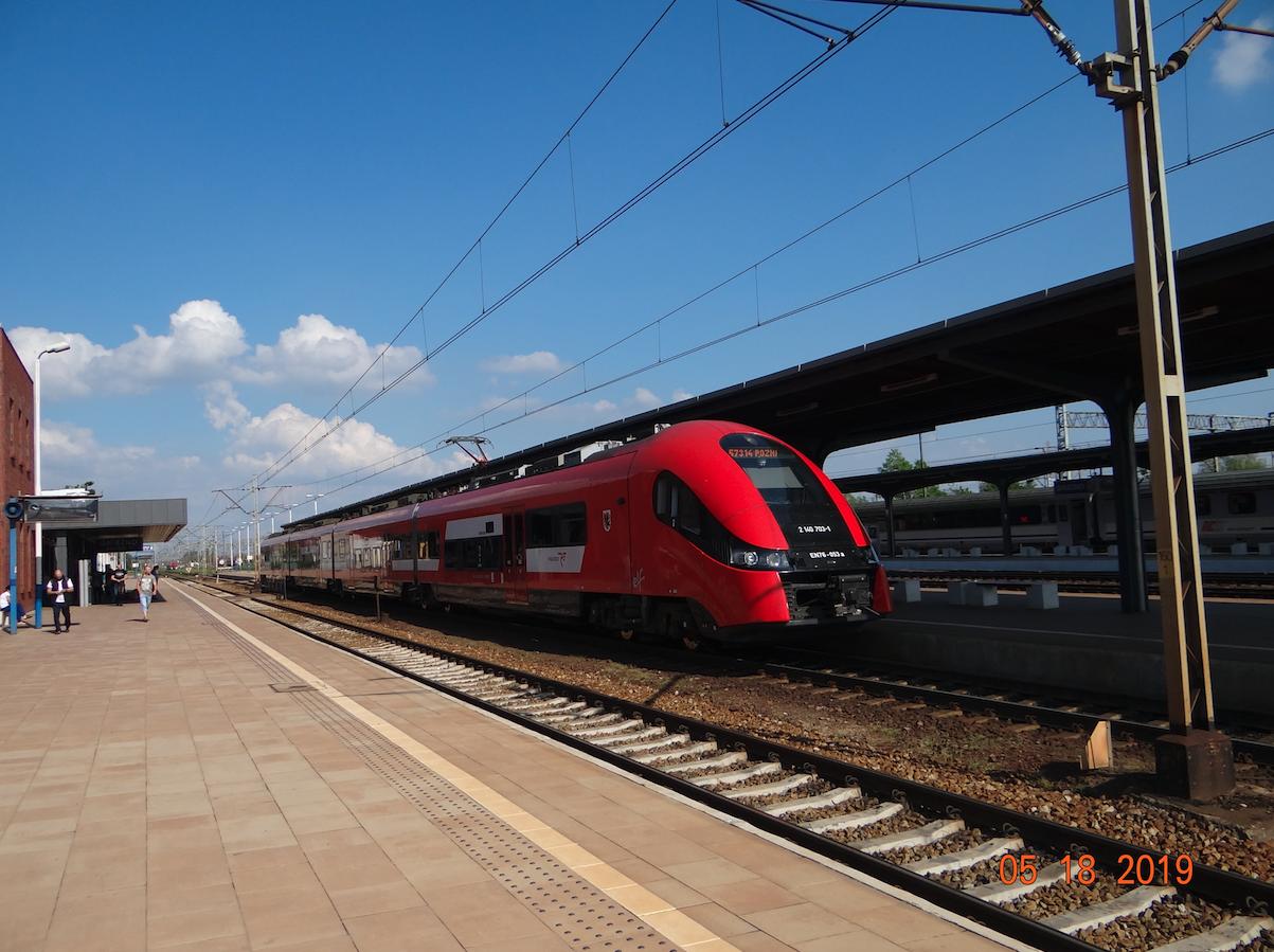 PKP Gniezno. 2019 rok. Zdjęcie Karol Placha Hetman
