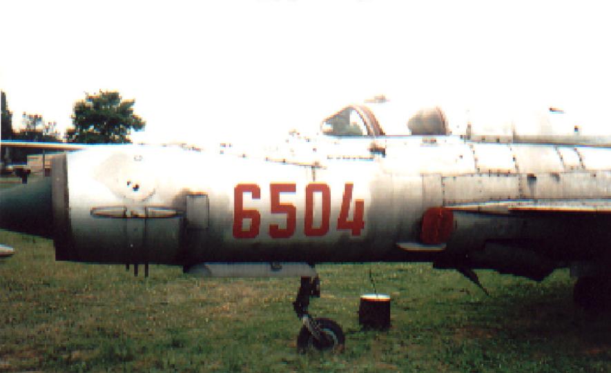 MiG-21 MF nb 6504. Czyżyny 2002. Photo by Karol Placha Hetman