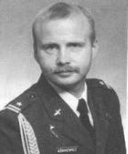 Pilot major Maciej Górkiewicz