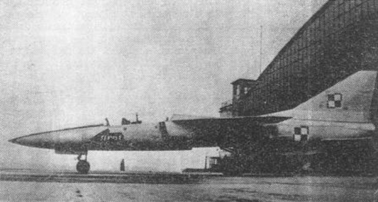TS-16 Grot, makieta naturalnej wielkości. 1963 rok. Zdjęcie PZL Mielec